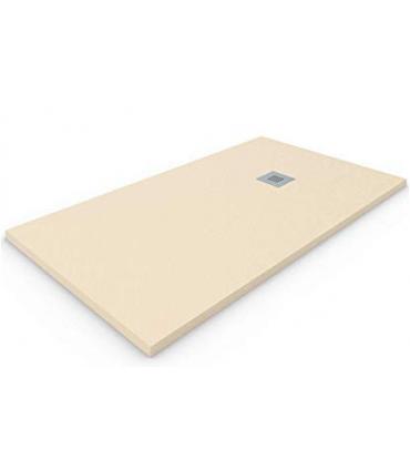 piatto doccia in marmo resina 80X140 H 2,5 crema rettangolare ap shop online
