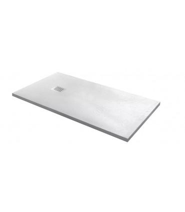 piatto doccia in marmoresina bianco 90 x 160 h2,5 rettangolare ap shop online