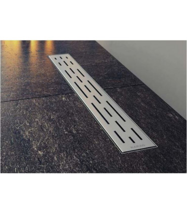 griglia canale sifone piletta a pavimento confluo ergo in acciaio inox 50 cm doccia ap shop online