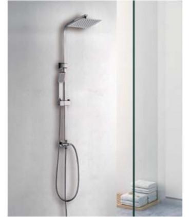asta colonna saliscendi doccia pannello con soffione acciaio inox ap shop online