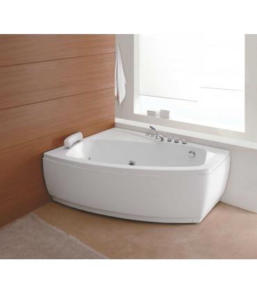 vasca da bagno idromassaggio asimmetrica angolare angolo 2 persone in acrilico piccola misura ap shop online