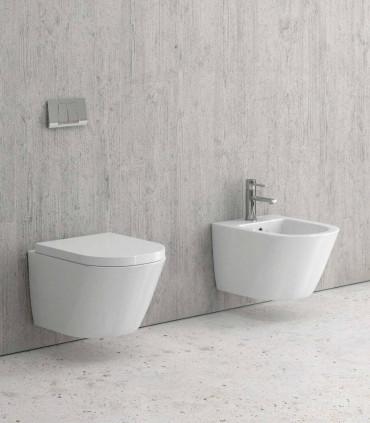 coppia sanitari moderni bagno vaso e bidet sospesi sorrento ap shop online