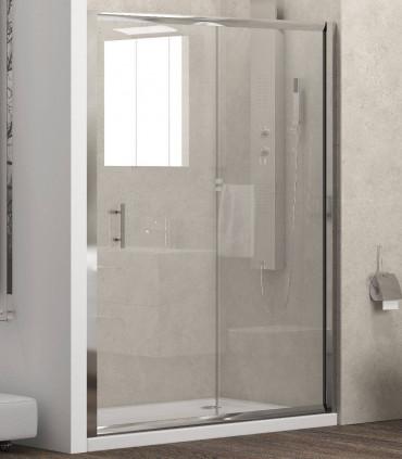 porta doccia scorrevole nicchia new flora 500 box doccia 5,5 cristallo trasparente temperato 130 cm ap shop online