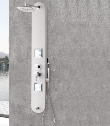 colonna doccia idromassaggio pannello doccia 2 jet multifunzione ios ap shop online